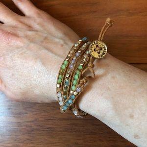 """Premier jewelry wrap bracelet """"pop of posh"""""""
